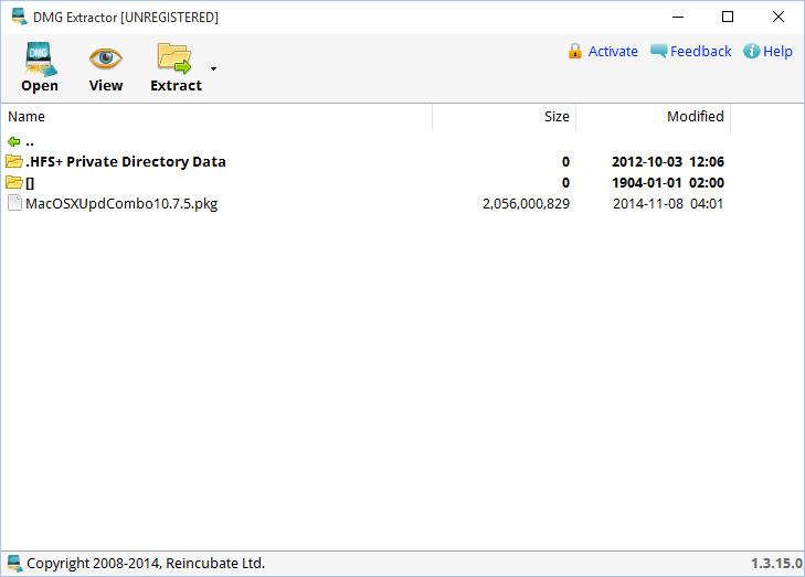 DMG Extractor 1.3.2.0 full