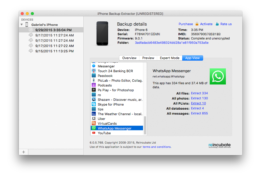 iphone backup extractor recover ios data from itunes and icloud backups