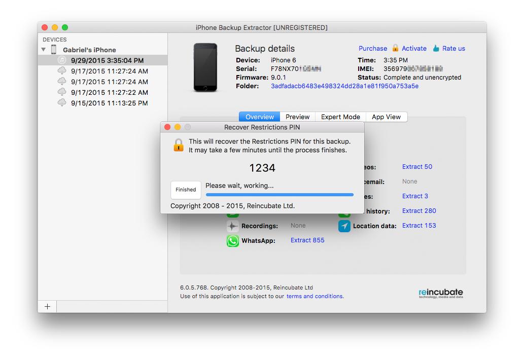 iphone backup extractor registration key generator